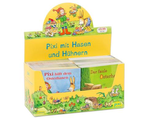 Pixi-Kassette Pixi mit Hasen und Huehnern-1