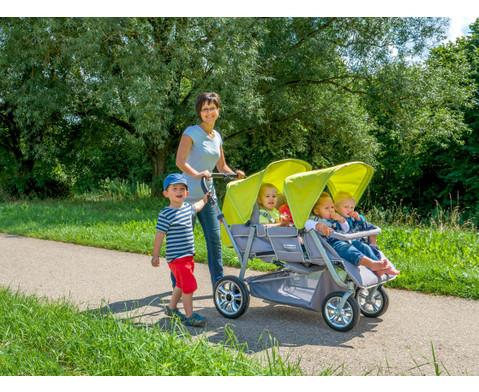 Krippenwagen fuer 4 Kinder-7