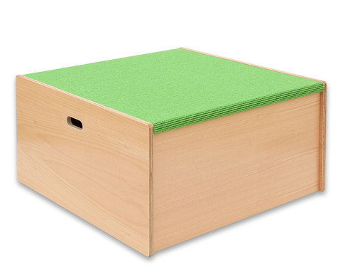 Spielpodest Quadrat gross