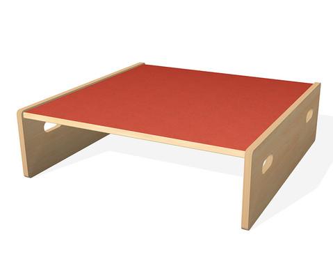Spielpodest Quadrat klein beidseitig offen-10