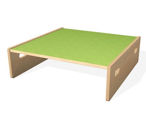 Spielpodest Quadrat klein beidseitig offen-15
