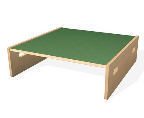 Spielpodest Quadrat klein beidseitig offen-6