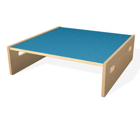 Spielpodest Quadrat klein beidseitig offen-7