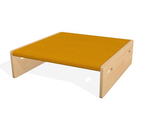 Spielpodest Quadrat klein beidseitig offen-4