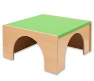 Spielpodest Quadrat groß, Öffnung übereck