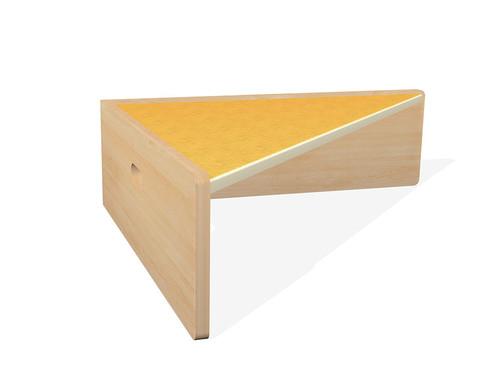 Spielpodest Dreieck einseitig offen-10