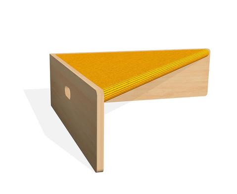 Spielpodest Dreieck einseitig offen-9