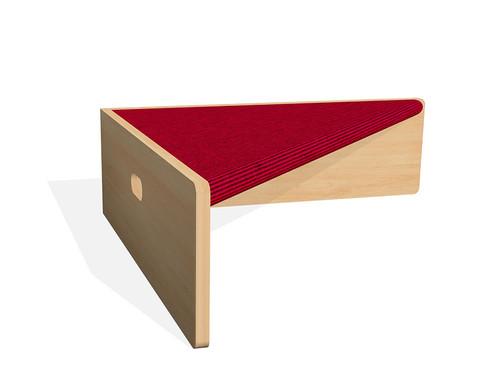 Spielpodest Dreieck einseitig offen-15