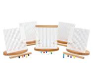 Zentro-Set mit 5 mittleren Rahmen + 1.000 Steckröllchen