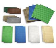 22 Lego Bauplatten klein