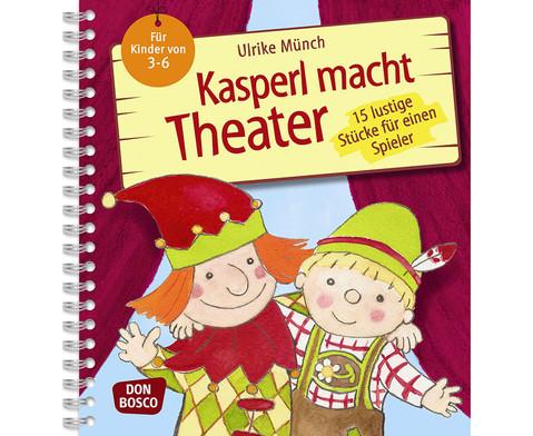 Buch Kasperl macht Theater- 15 lustige Stuecke fuer die Kita-1