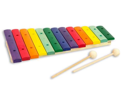 Buntes Holz-Xylophon-1