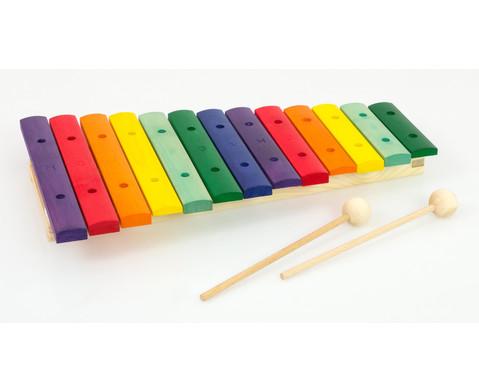 Buntes Holz-Xylophon-2