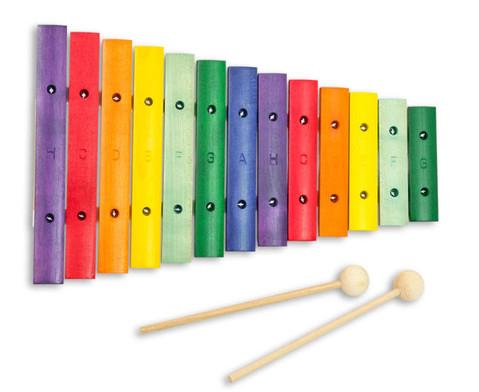 Buntes Holz-Xylophon-3