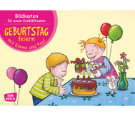 Bildkarten – Geburtstag feiern mit Emma und Paul