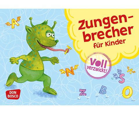 34 Zungenbrecher-Karten fuer Kinder