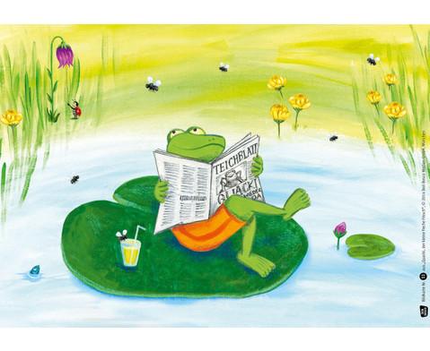 Bildkarten Quacki der kleine Frosch-2