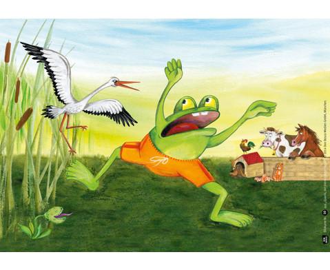 Bildkarten Quacki der kleine Frosch-3