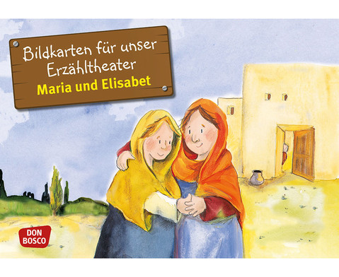 Bildkarten  Maria und Elisabet-1