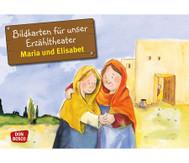 Bildkarten: Maria und Elisabet