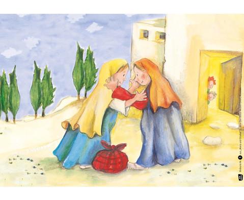 Bildkarten  Maria und Elisabet-4