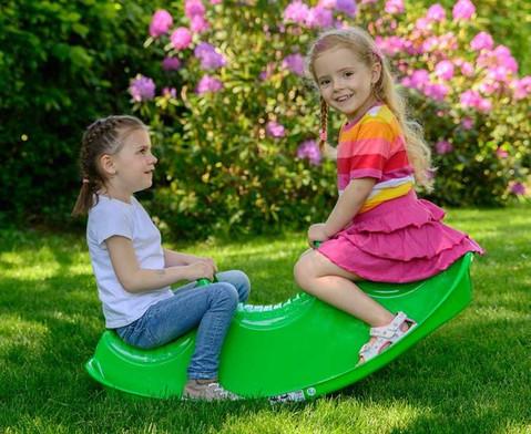Kroko-Wippe fuer 3 Kinder-4