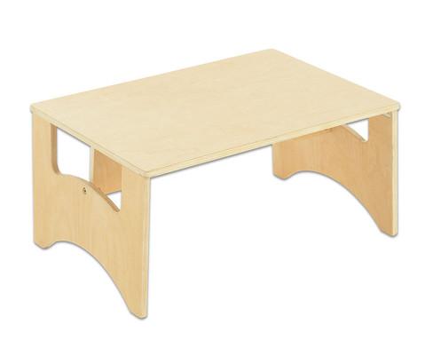 Boden-Holztisch fuer Lichttische  anderen Spielmaterialien
