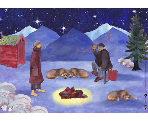 Bildkarten  Die heilige Nacht-3