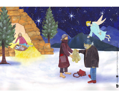 Bildkarten  Die heilige Nacht-4