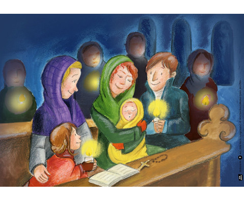 Bildkarten  Stille Nacht heilige Nacht-5