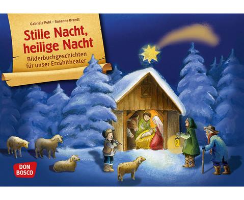 Stille Nacht heilige Nacht Kamishibai-Bildkartenset