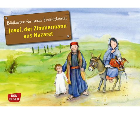 Bildkarte Josef der Zimmermann aus Nazaret-1