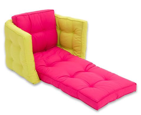 Sessel Sedia pink-grau-2