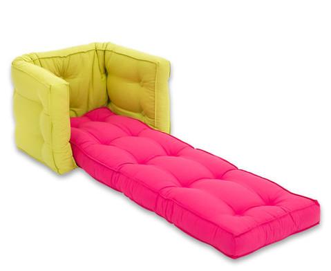 Sessel Sedia mini gruen-pink-2