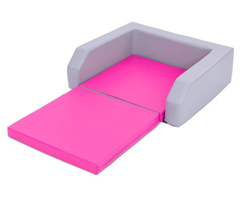 BebeNino Klappbettliege pink-1