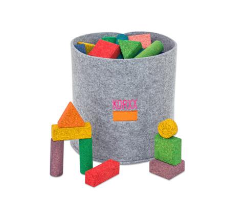56 bunte Korxx-Bausteine verschiedene Formen-1