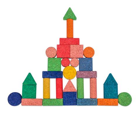 56 bunte Korxx-Bausteine verschiedene Formen-2