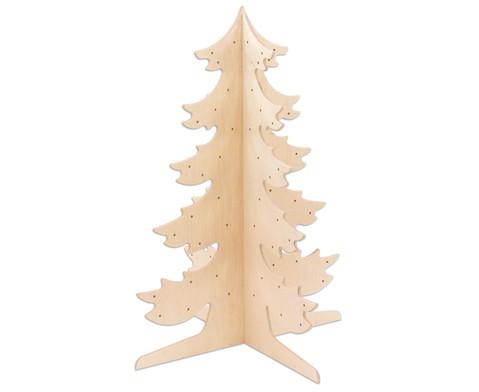 Tannenbaum aus Holz-1