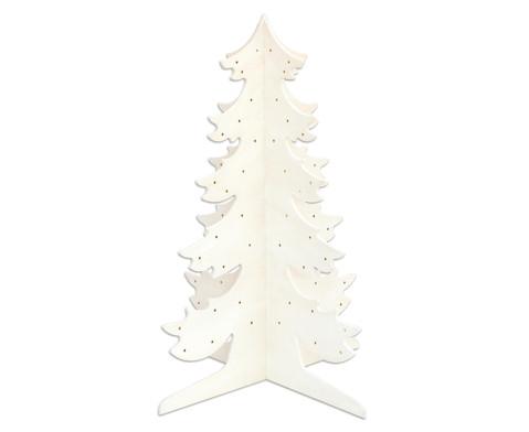 Tannenbaum aus Holz-3
