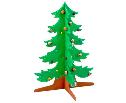 Tannenbaum aus Holz-6
