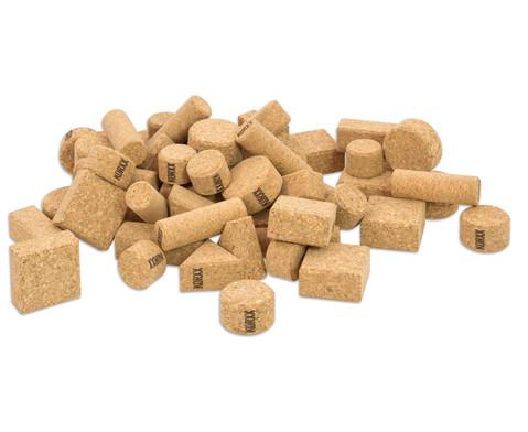 60 Natur-Korxx-Bausteine verschiedene Formen-2