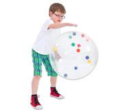 Transparenter XXL-Ball