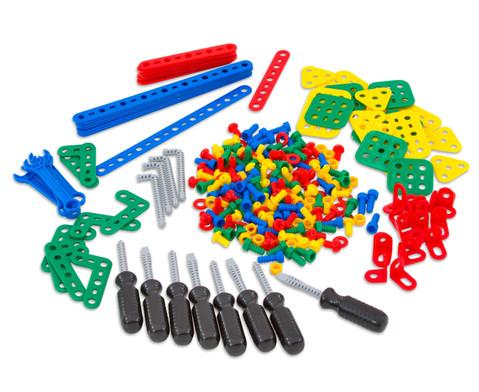 Konstruktionsmaterial mit Werkzeug 320-tlg