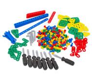 Konstruktionsmaterial mit Werkzeug, 320-tlg