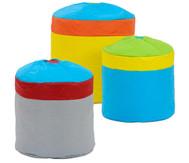 CupCake Sitzsack-Set, 3-teilig