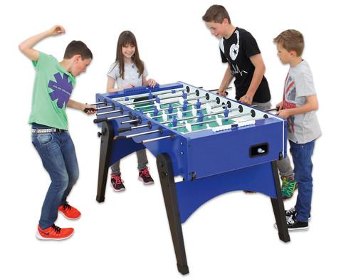 Tischkicker Foldy - Profi-Spielstangen-9