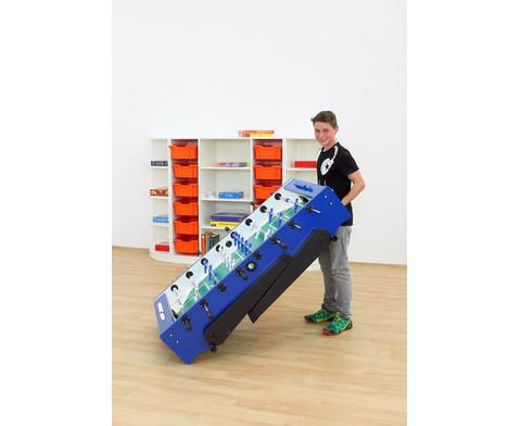 Tischkicker Foldy - Safety-Spielstangen-7
