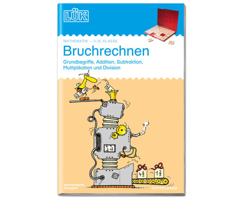 LUEK Bruchrechnen doppelband fuer 5- 6 Klasse