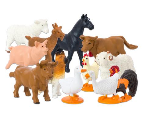 Bauernhof Tiere 12 Stueck-1
