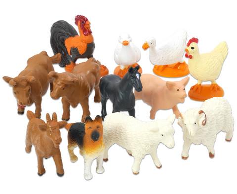 Bauernhof Tiere 12 Stueck-2